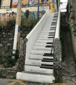 Piano Staircase.
