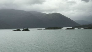 Typical scenery with a lot of Islands.
