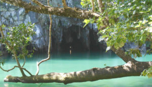 Puerto Princesa Subterranean River National Park. The Entrance to The Underground River. It's a new 7 Wonders of Nature.
