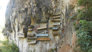The Hanging Coffins of Sagada, Mountain Province.