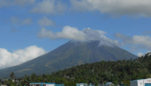 "Mt. Mayon near Legazpi City. Reowned as the ""perfect cone."""