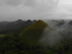 The Chocolate Hills, in Bohol.