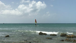 All wind water sports are popular at Jeri.
