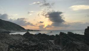 Sunset on the return back to Jeri.