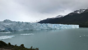 The picture above will give you an idea of how big this glacier is. But pictures cannot justify the true likeliness of this white giant!