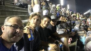 The 4 amigos at the Sombódromo.